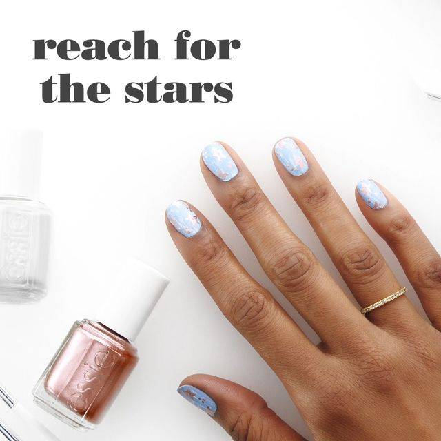 reach for the stars - nailart